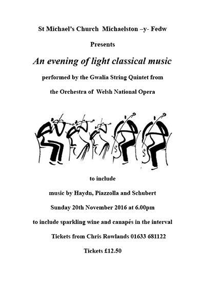 An evening of light classical music 2016