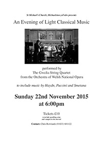An Evening of Light Classical Music